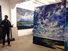 Olivier Masmonteil atelier visit