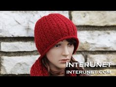 How to knit a hat - double braid stitch - YouTube