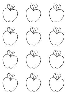 apple tree template for kids fall the