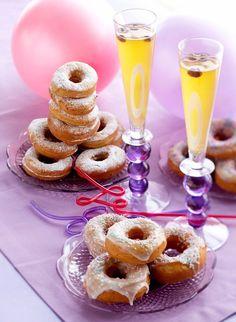 sima Doughnut, Desserts, Food, Buns, Milk, Breakfast, Tailgate Desserts, Deserts, Essen