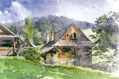 Michal Suffczynski watercolor