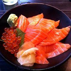 A whole lotta donburi — Salmon Don @ Sushi Masa in Thailand