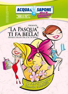 Copertina #volantino #promozionale  Acqua & Sapone