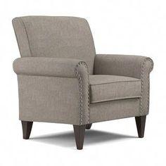 Trent Austin Design Amet W Armchair Fabric: Polyester Dove Gray Linen