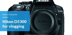The Nikon for vlogging is a contribution from the makers at Nikon to bring the talented vloggers out of the shed and into the land of the living. Leica Camera, Camera Nikon, Nikon Lenses, Canon Cameras, Camera Tips, Canon Lens, Camera Gear, Film Camera, Camera Sketches