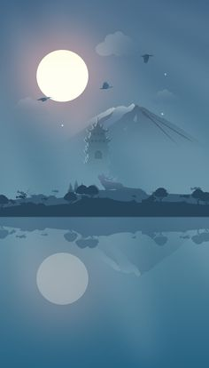 """Illustration wallpaper"" by luking (2016)"