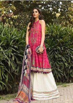 Pakistani Dress Design, Pakistani Suits, Pakistani Dresses, Indian Dresses, Stylish Dresses, Casual Dresses, Casual Wear, Maria B Lawn, Best Clothing Brands