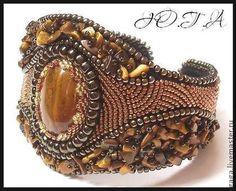 Браслеты с тигровым глазом - коричневый,браслет,браслет с камнями,браслеты