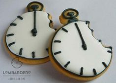 Galletas corporativas: los relojes Lombardero Corporative cookies: our Lombardero clocks