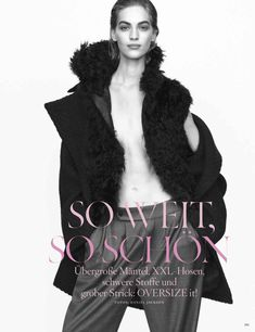 visual optimism; fashion editorials, shows, campaigns & more!: so weit, so schön: vanessa axente by daniel jackson for vogue germany septemb...