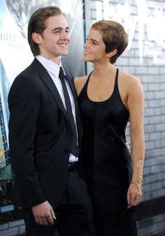 These Celebrities Have Ridiculously Good Looking Siblings, Yet We're Not Surprised - Emma and Alex Watson.