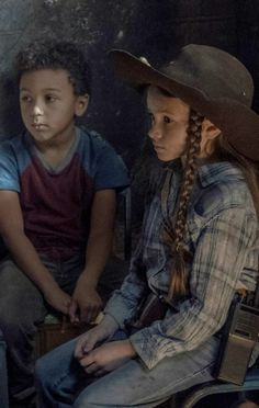 """""""the grimes children are honestly so powerful i feel like a proud mother"""" Judith Twd, Judith Grimes, Carl Grimes, The Walking Dead 2, Walking Dead Tv Series, Netflix Cast, Walking Dead Wallpaper, Rick And Michonne, Dragon Age Series"""