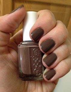 Essie Mink Muffs. Great brown color for fall :) just got it!! Love it!! Kmart has iron sale for $4!! ~A~