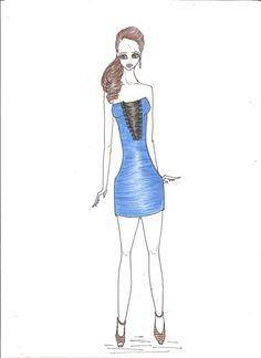 Tema: Itália a moda da casa, Gondolas de Veneza, conceitual. Trabalho 1º ano - moda