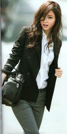 ❤️🍀 Sweet and Sexy 🌿💋 Japanese Beauty, Asian Beauty, Japanese Makeup, Natural Beauty, Asian Fashion, Girl Fashion, Beautiful Asian Women, Up Girl, Mode Style