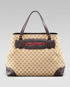 Dressage Large Tote by Gucci at Neiman Marcus.