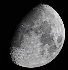 Waxing Gibbous Moon  Canon 600D, Mak 127mm 20/12/15 Worcestershire, UK