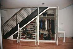 Closet Under Stairs Ideas Closet