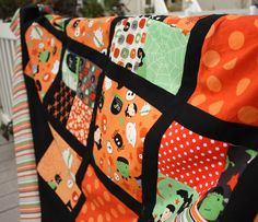 Diary of a Quilter - a quilt blog: Halloween Quilt Sneak Peak