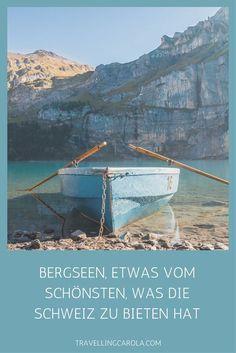 Der Oeschinensee oder Blausee gehören zu den bekanntesten und auch schönsten Bergseen in der Schweiz. Daneben gibt es aber noch eine ganze Reihe weniger