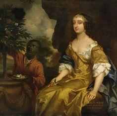Lady Elizabeth Wriothesley by Sir Peter Lely 2