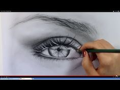 ▶ How to Draw a Realistic Eye - YouTube