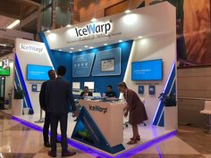 ICEWARP*GITEX2018* on Behance Exhibition Models, Exhibition Stall Design, Exhibition Stands, Exhibit Design, Stand Design, Display Design, Autocad, Expo Stand, Entrance Design