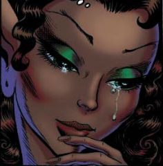 Leetah from #Elfquest.  Art by Wendy Pini.