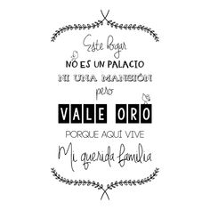 Vinilos Decorativos Frases Este Hogar Family Is Everything, Family Rules, Spanish Quotes, Home Signs, Silhouette Design, My Room, Feng Shui, Hand Lettering, Poems