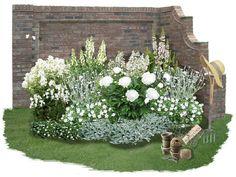 Zeitlose Eleganz in Weiß Der englische Klassiker: Englische Gärten zu besuchen ist Inspiration pur. Und einige Gärten sollten dabei...