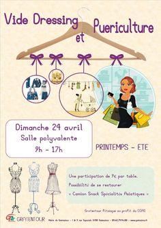 Save the date   je vide mon dressing chez Violette Sauvage le 31 ... ecb58d78225