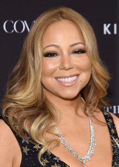 Mariah Carey - Tapete vermelho da Harper's Bazaar.