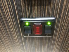 Adding LED lights to a switch in your RV will help make it easier to tell if they are on or off at a glance.