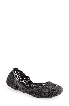 Melissa 'Campana Fitas' Jelly Flat (Women) available at #Nordstrom