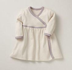 Organic Jersey Layette Dress