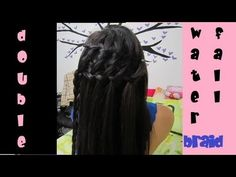 Double Waterfall Braid Hair Tutorial (Summer Hairstyle/No heat, No products) - Click image to find more hot Pinterest videos