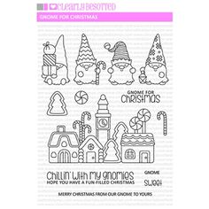 Diy Halloween Toys, Christmas Gnome, Tole Painting, Simon Says Stamp, Art Activities, Digital Stamps, Clear Stamps, Coloring Pages, Paper Crafts