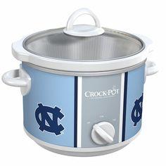 North Carolina Tar Heels Collegiate Crock-Pot® Slow Cooker comes in bigger sizes too @Liz Smith