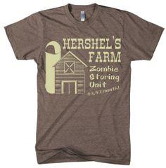Hershel's Farm Walking Dead t shirt