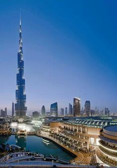 Burj Khalifa and Dubai Mall, Dubai