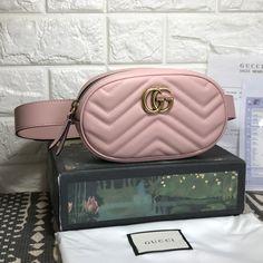 Gucci woman marmont waist bag original leather version