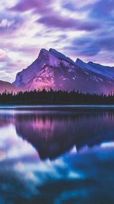 Beautiful Sunset Lake Scenery IPhone Wallpaper Iphoneswallpapers Com
