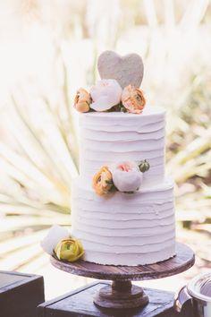 Heart-shaped cactus topper, perfect for an southwest wedding: http://www.stylemepretty.com/arizona-weddings/phoenix/2015/09/01/rustic-arizona-desert-wedding/ | Photography: Keeping Focus - http://www.keepingfocusphotography.com/