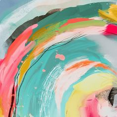 Painting Inspiration, Art Inspo, Modern Painting, Painting Prints, Paintings, Bright Art, Abstract Print, Kids Abstract Art, Printable Wall Art