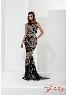 Jasz Couture 5666 Black/Gold