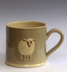 sheep mug -- Hogben Pottery