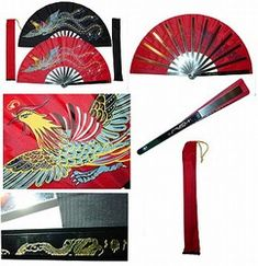 Martial Arts Weapons Tessen Fighting Fan- This is creative because I am a fan teacher, and I choreograph my own fan performances along with my own fan team to do demonstrations with. I created a whole curriculum for fans and I now teach fans from 5 year olds to 60 year olds.