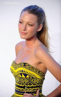 Dress || black & yellow strapless navajo print dress, Blake Lively