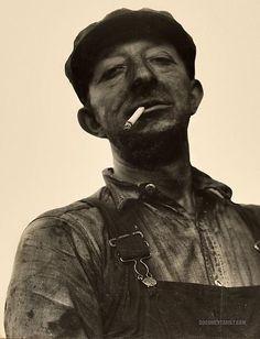 Bootleg breaker operator. Schuylkill County, Pennsylvania. 1938-1939