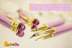 Rare-Sailor-Moon-20th-Anniversary-Miracle-1-piece-Fountain-pen-Handmade-Limit
